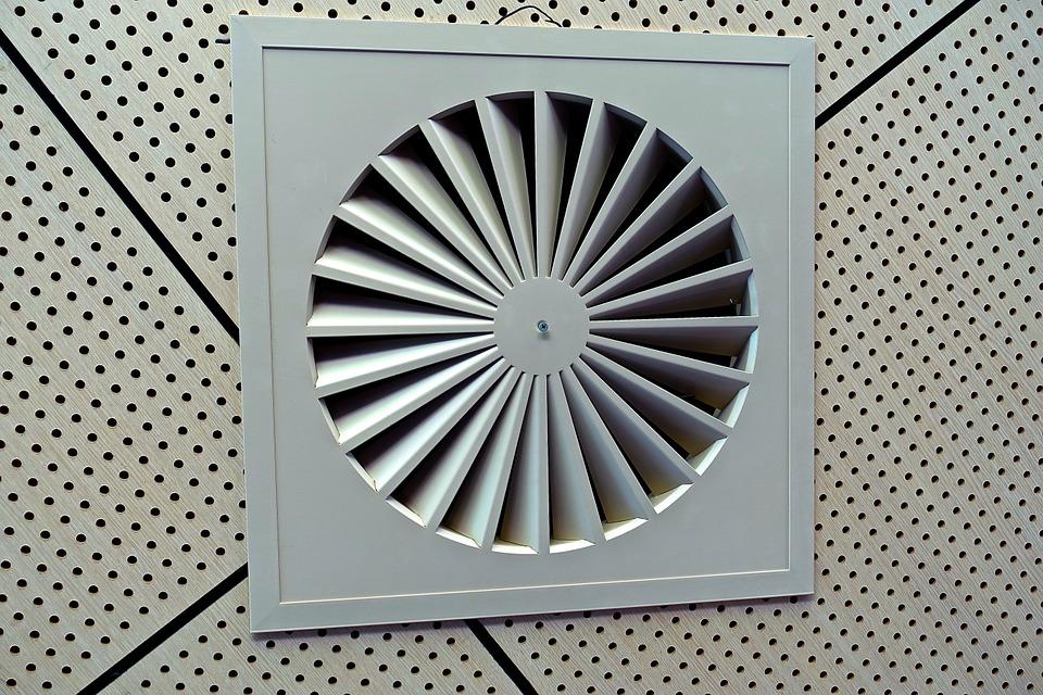 terugslagklep ventilatie